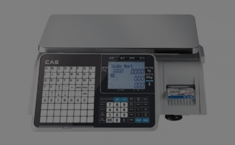 CAS CL-3000B Barkodlu Terazi